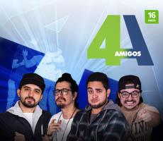 4 Amigos em Gravataí - Rs @ Teatro do Sesc de Gravataí | Rio Grande do Sul | Brasil